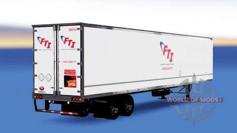 All-metal semi-FTI for American Truck Simulator