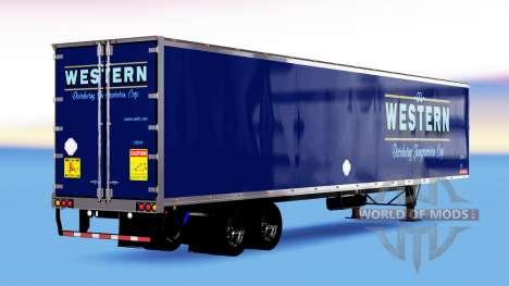 All-metal semi-Western for American Truck Simulator