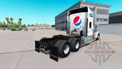 Pepsi skin for the Kenworth W900 tractor for American Truck Simulator