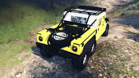 Hummer H1 6x6 Raptor v3.0 for Spin Tires