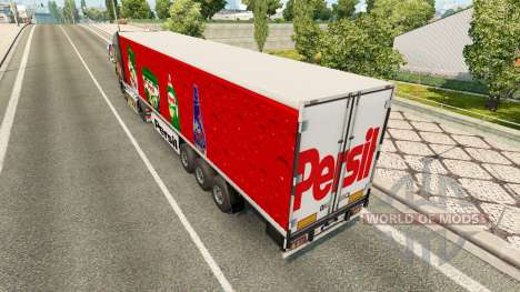 Skin Persil on the trailer for Euro Truck Simulator 2