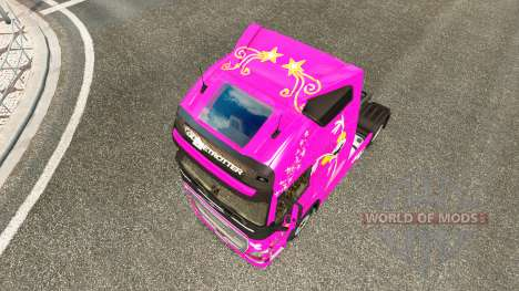 Dee Dee skin for Volvo truck for Euro Truck Simulator 2