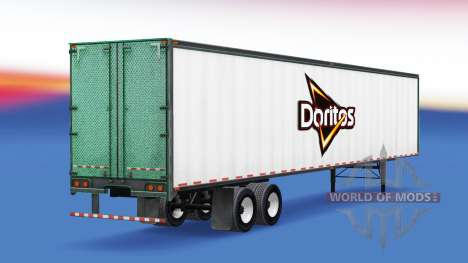 Skin of Doritos on the trailer for American Truck Simulator