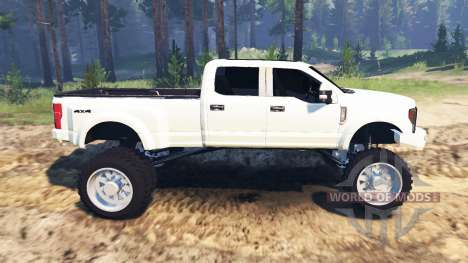 Ford F-450 2017 for Spin Tires