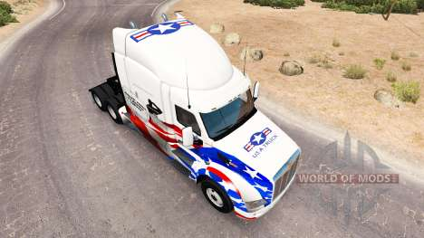 Skin USA Trucks for truck Peterbilt for American Truck Simulator