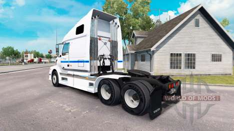 Skin Con-way Truckload for truck tractor Volvo V for American Truck Simulator