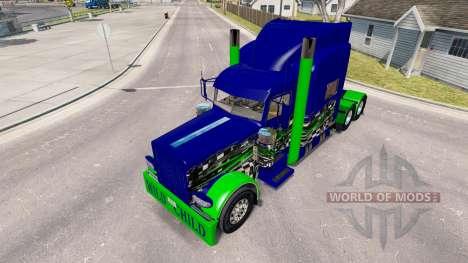 Skin Wild Child on the truck Peterbilt 389 for American Truck Simulator