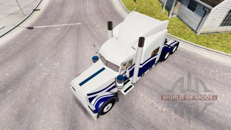 Skin Custom 9 for the truck Peterbilt 389 for American Truck Simulator