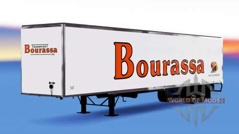 All-metal semi-Bourassa for American Truck Simulator