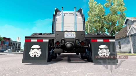 A collection of skins for the fenders for American Truck Simulator