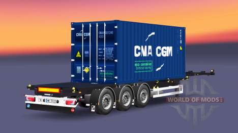 Semi-container Sommer for Euro Truck Simulator 2