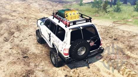 Toyota Land Cruiser 100 2000 [Samuray] for Spin Tires