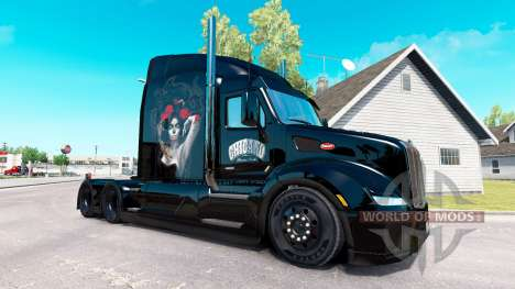 Chicano skin for the truck Peterbilt for American Truck Simulator