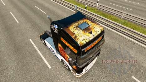 Predator skin for Scania truck for Euro Truck Simulator 2