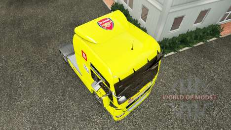 Skin Arsenal for the tractor MAN for Euro Truck Simulator 2