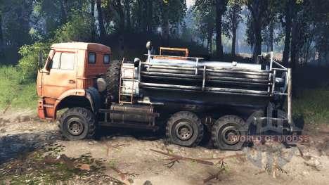KamAZ-6522 v6.0 for Spin Tires
