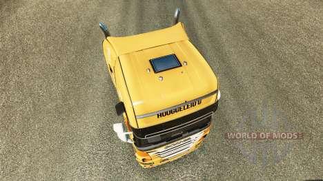Rijke Tata skin for Scania truck for Euro Truck Simulator 2