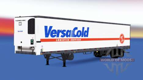 A collection of trailers USA for American Truck Simulator