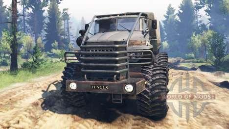 Ural-4320-10 Tungus v2.0 for Spin Tires