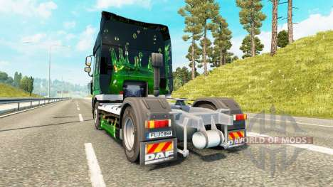 ArtWorks skin for DAF truck for Euro Truck Simulator 2