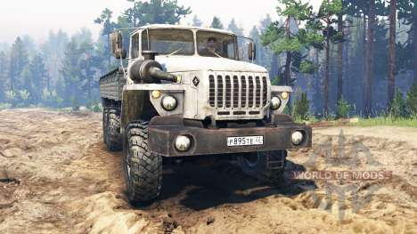 Ural-4320-30 for Spin Tires