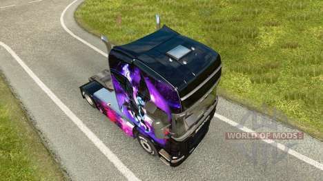 Little Pony skin for Scania truck for Euro Truck Simulator 2
