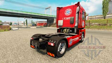 FC Bayern skin for Renault truck for Euro Truck Simulator 2