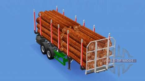 Small semi-trailer truck for American Truck Simulator