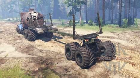 KrAZ-255 B1 Crocodile for Spin Tires