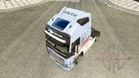 Dreams skin for Volvo truck for Euro Truck Simulator 2