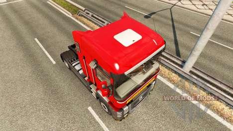 Heavy transport skin for Renault truck for Euro Truck Simulator 2
