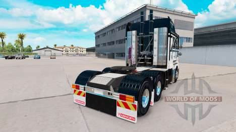 Skin Ace Of Spades on tractor Kenworth K200 for American Truck Simulator