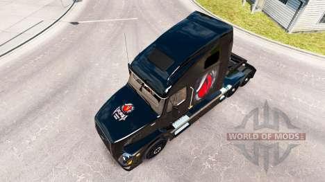 Venom Energy skin for Volvo truck VNL 670 for American Truck Simulator