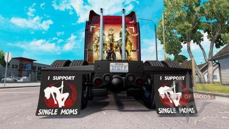 Mudguards I Support Single Moms v1.4 for American Truck Simulator