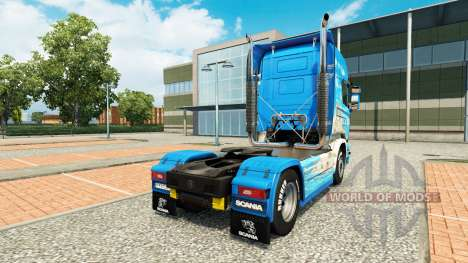 Skin Klanatranas on tractor Scania for Euro Truck Simulator 2