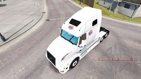 Skin NAPA on tractor Volvo VNL 670 for American Truck Simulator