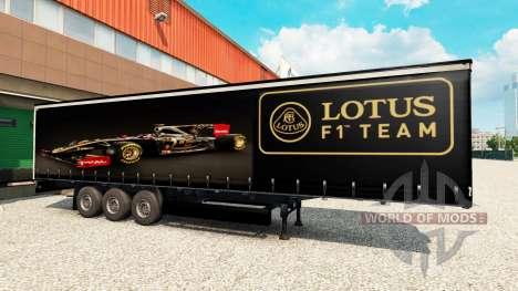 Skin Lotus F1 for semi for Euro Truck Simulator 2