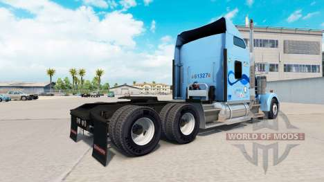 Skin Werner on the truck Kenworth W900 for American Truck Simulator