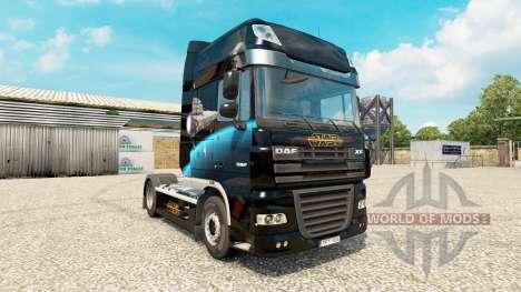 Star Destroyer skin for DAF truck for Euro Truck Simulator 2