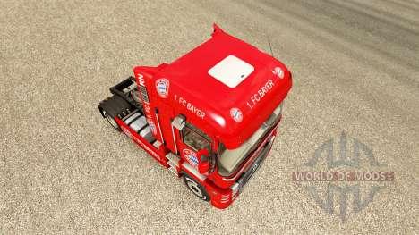 FC Bayern skin for Renault truck for Euro Truck Simulator 2