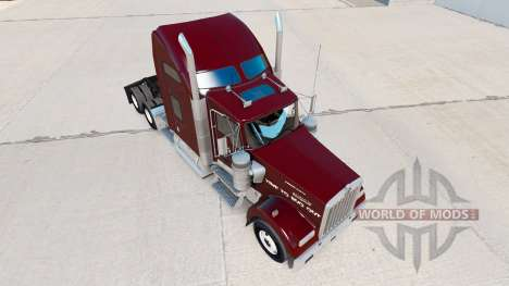 Skin Doodle Bug tractor on Kenworth W900 for American Truck Simulator