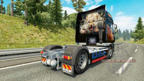 Predator skin for DAF truck for Euro Truck Simulator 2