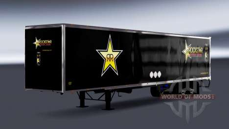 All-metal semi-Rockstar Energy for American Truck Simulator