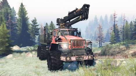 Ural-4320 Polar Explorer v9.0 for Spin Tires