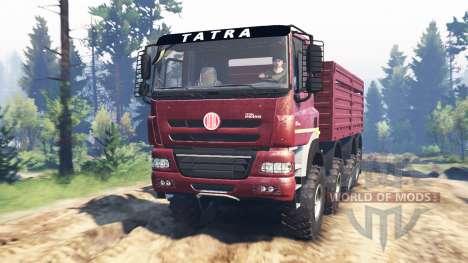 Tatra Phoenix T 158 8x8 v5.0 for Spin Tires