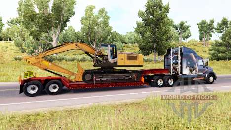 Low sweep with oversized cargo for American Truck Simulator