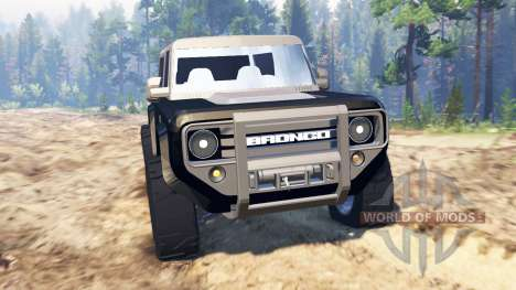 Ford Bronco Concept for Spin Tires