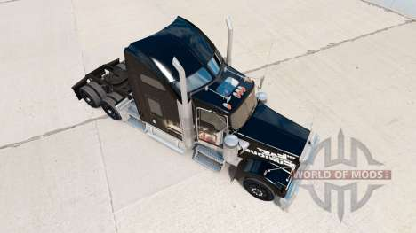 Skin Fast and Furious on the truck Kenworth W900 for American Truck Simulator