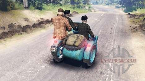Ural M-62 for Spin Tires