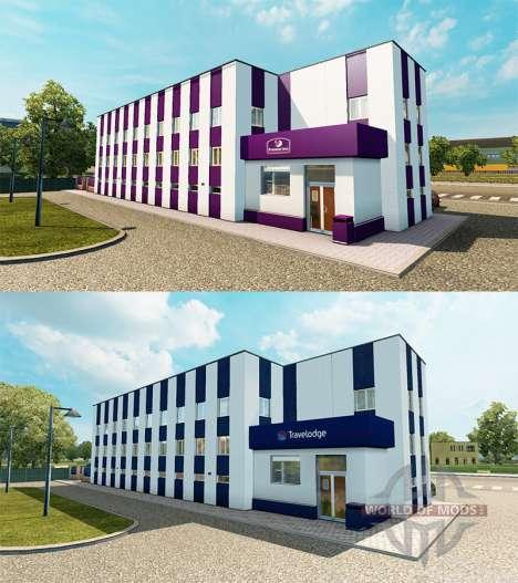 Hotel chain Travelodge and Premier Inn for Euro Truck Simulator 2